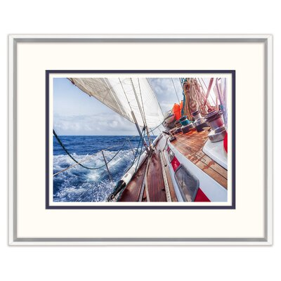 Sailing Into The Wind II Framed Photographic Print