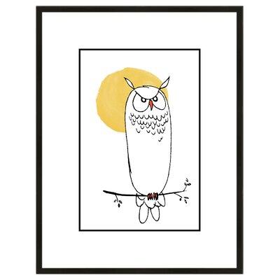 Night Owl Framed Art IP13543