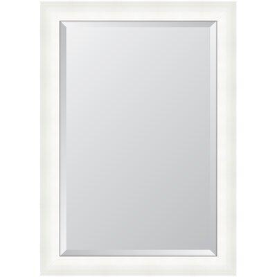 High Gloss Resin Frame Wall Mirror MIR3452436