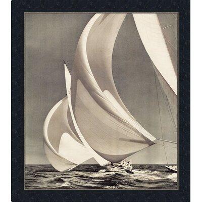'Sailing IV' Framed Photographic Print mv14049I