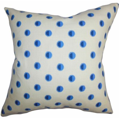 Banu Geometric Cotton Throw Pillow Size: 22 x 22