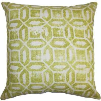 Darina Geometric Throw Pillow Size: 18