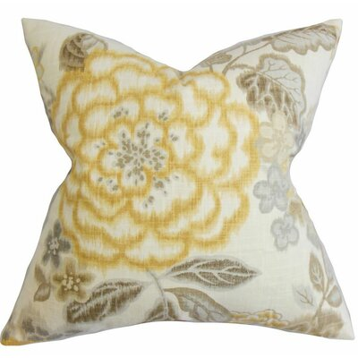 Unai 100% Cotton Throw Pillow Size: 18