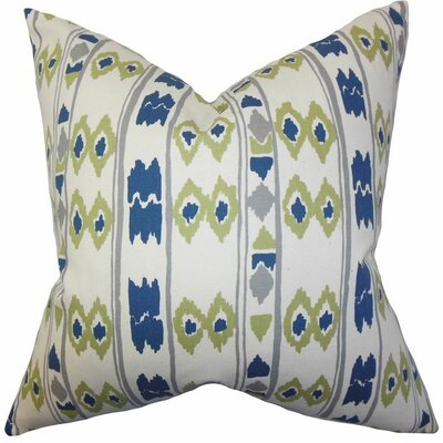 Delano Geometric Cotton Throw Pillow Size: 24 x 24
