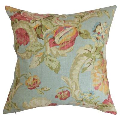 Khorsed Cotton Throw Pillow Color: Vapor, Size: 20 x 20