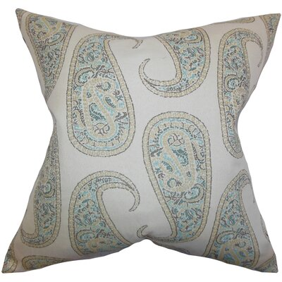 Amahl Paisley Bedding Sham Size: King, Color: Blue