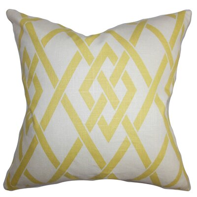 Abioye Geometric Throw Pillow Size: 24 x 24