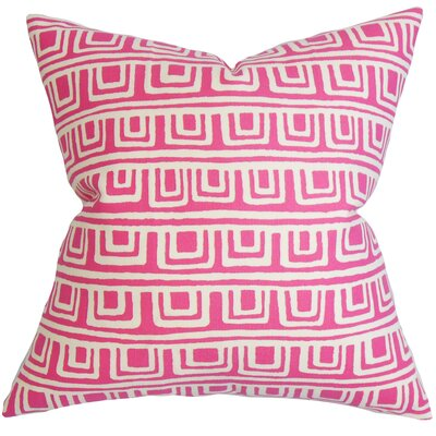 Xabrine Geometric Cotton Throw Pillow Size: 24 x 24