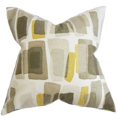 Ulla Geometric Cotton Throw Pillow Size: 24 x 24