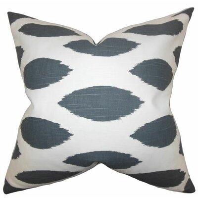 Juliaca Ikat Throw Pillow Color: Gray, Size: 20 H x 20 W