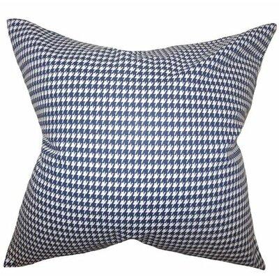 Lviv Cotton Throw Pillow Color: Blue, Size: 24 x 24