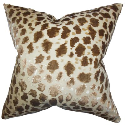 Hepzibah Animal Print Throw Pillow Size: 18x18
