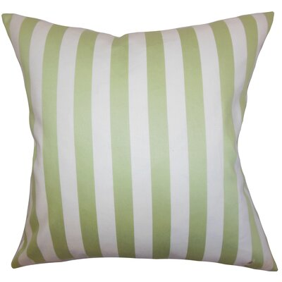 Baez Stripes Cotton Throw Pillow Size: 20 x 20