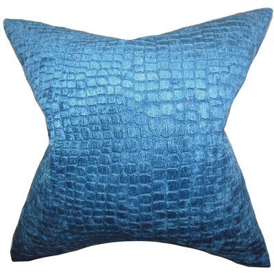 Jensine Throw Pillow Color: Lapis, Size: 20 H x 20 W