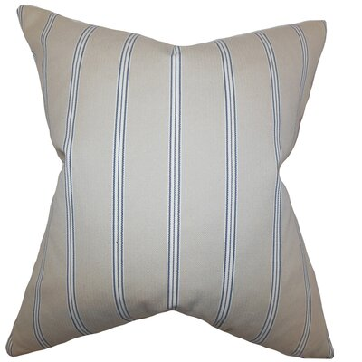 Drusilla Stripes Bedding Sham Size: Queen
