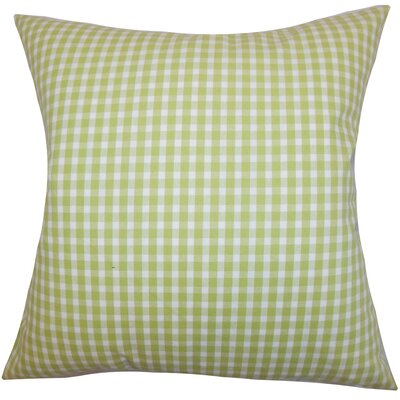 Hartley Plaid Bedding Sham Size: Euro