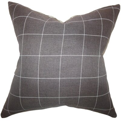 Ivo Plaid Bedding Sham Size: Euro