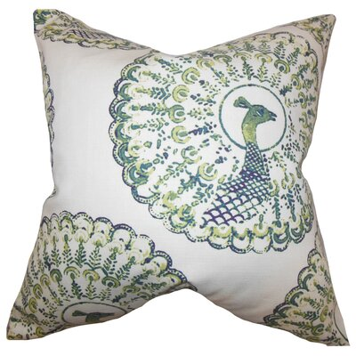 Ieesha Animal Print Throw Pillow Color: Cactus, Size: 22 x 22