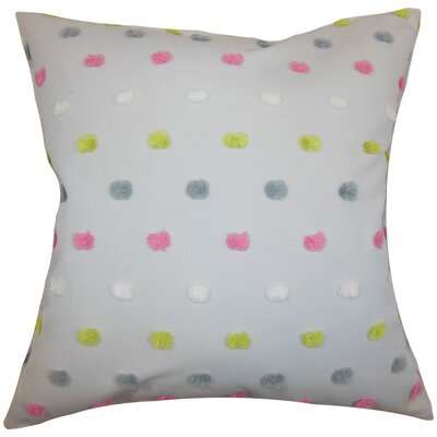 Jael Dots Throw Pillow Size: 18x18