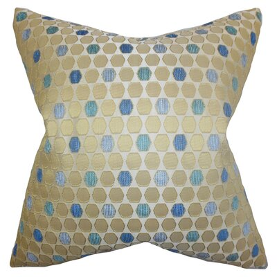 Itzel Geometric Cotton Throw Pillow Cover