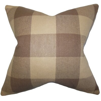 Abrial Plaid Throw Pillow Size: 20 x 20