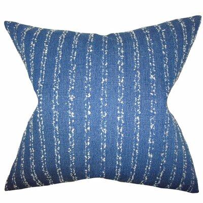 Begonia Stripes Throw Pillow Size: 20 x 20