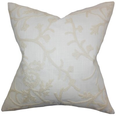 Marely Snowflakes Cotton Throw Pillow Cover