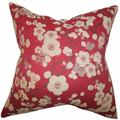 Decima Floral Velvet Throw Pillow Size: 20 x 20