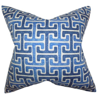 Unai Geometric Cotton Throw Pillow Size: 18 x 18