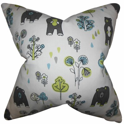 Madigan Floral Cotton Throw Pillow Size: 18x18