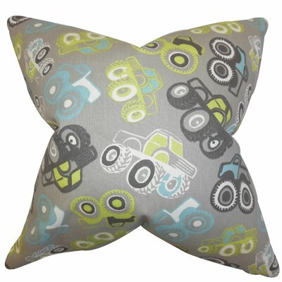 Akiva Geometric Cotton Throw Pillow Size: 20 x 20