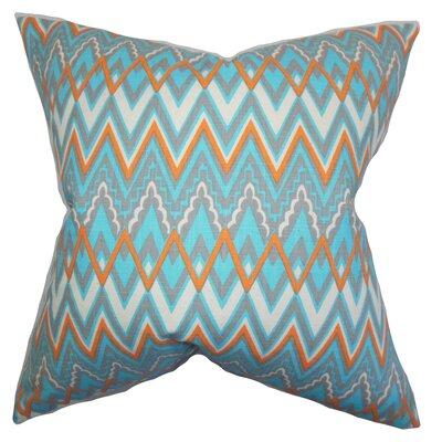 Forsythia Geometric Throw Pillow Size: 18x18