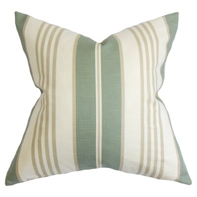Vigee Stripe Cotton Throw Pillow