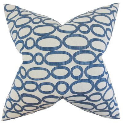 Razili Geometric Bedding Sham Size: King, Color: Blue