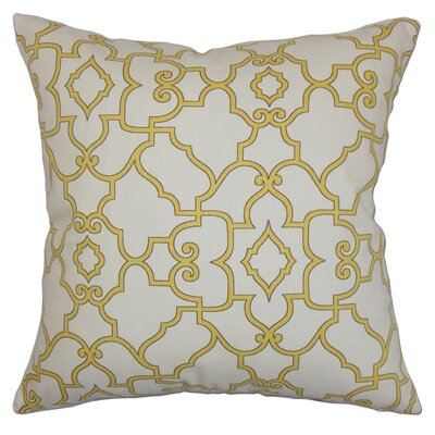 Buttercup Cotton Throw Pillow Cover