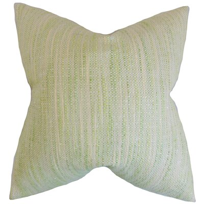 Chrisholm Striped Throw Pillow Color: Celery, Size: 18 x 18