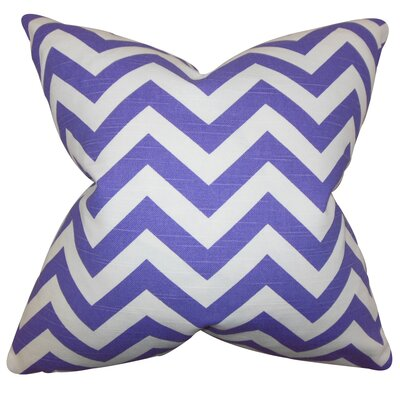 Falkner Chevron Bedding Sham Size: Standard, Color: Purple