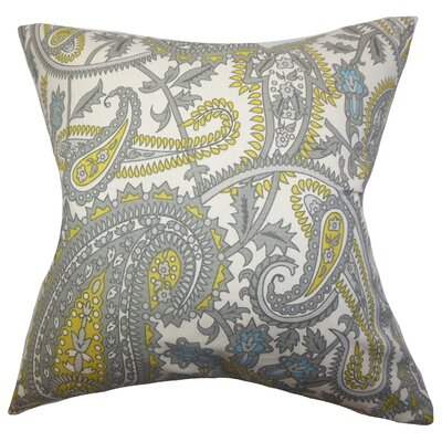 Putri Paisley Throw Pillow Size: 18 x 18