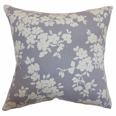Vieste Floral Bedding Sham Color: Lavender, Size: Queen