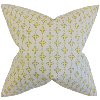Auden Geometric Cotton Throw Pillow Size: 18 x 18
