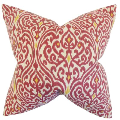 Chantry Ikat Bedding Sham Size: King, Color: Cranberry