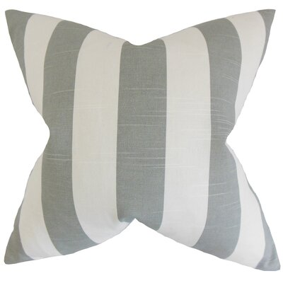 Acantha Stripes Bedding Sham Size: Euro, Color: Ash
