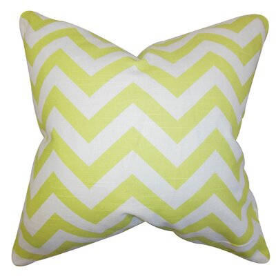 Gaines Chevron Bedding Sham Size: Euro