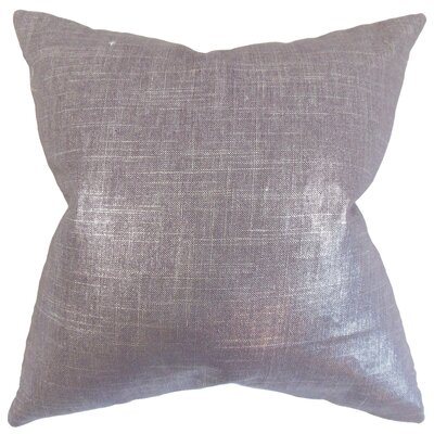 Florin Solid Bedding Sham Size: Queen, Color: Amethyst