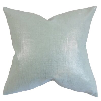 Florin Solid Bedding Sham Size: Queen, Color: Baby Blue