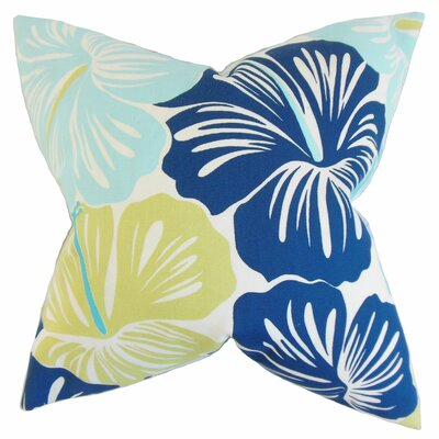 Free Floral Throw Pillow
