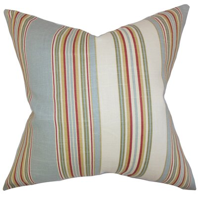 Florrie Stripes Cotton Throw Pillow