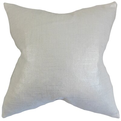 Berquist Solid Bedding Sham Size: Standard, Color: Pearl