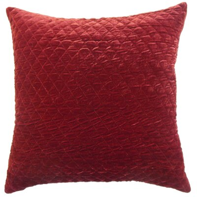 Small Diamond Velvet Throw Pillow