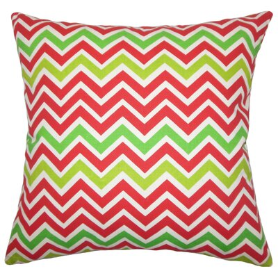 Holiday Zoom Throw Pillow
